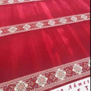 Karpet Masjid Sultan Ahmet Soft Merah Polos